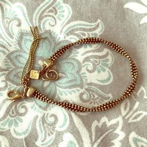 Banana republic gold bracelet